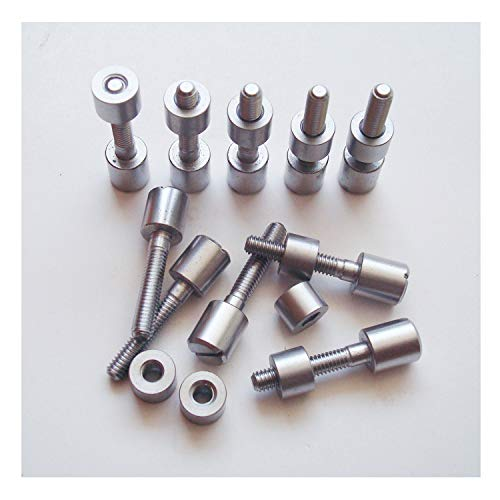 (10 Sets/lot Screw Fasteners for Knife Maker, 5/16
