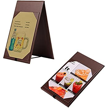 amazon com set of 10 table tent menu holder for specials or