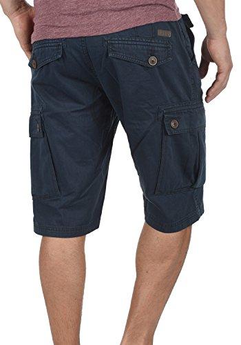 Algodón Para 100 Cortos Cinturón Con solid Bermudas Cargo fit De Pantalón Valongo Blue Pantalones Hombres 1991 Regular Insignia wqXxPY7X