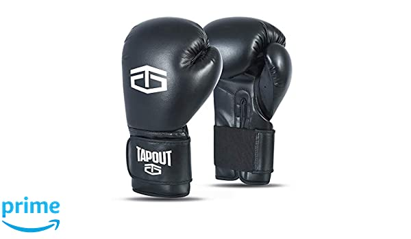 Tapout Guantoni Boxe Adulto Dura-Leather PU Training Sparring Classic