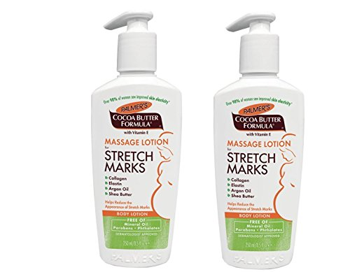Palmer's, Cocoa Butter Formula, Massage Lotion for Stretch Marks, Body Lotion, 8.5 fl oz (250 ml) - 2pc Cocoa Butter Formula Massage