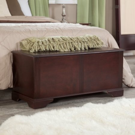 (Sydney Cedar Hope Cedar Chest - Cherry Finish)