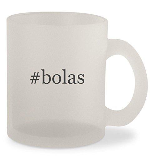 #bolas - Hashtag Frosted 10oz Glass Coffee Cup Mug (Mc Bola)