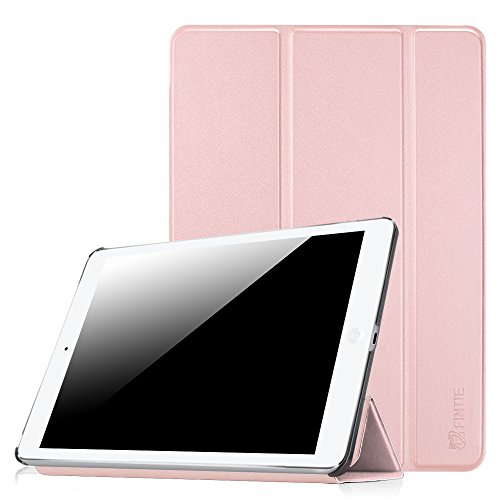 Fintie iPad Air Case- [SlimShell] Ultra Lightweight Stand Smart Protective Cover with Auto Sleep/Wake Feature for Apple iPad Air, Rose Gold