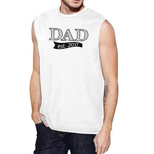 Printing Manches Unique Dad Taille 365 Courtes White T 2017 Est Homme shirt dWnacCnZ