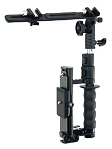 ALZO Flip Flash Bracket, Versatile Fast Action Camera Bracket for All DSLR Cameras with Quick Release Mount, Including Canon, Nikon, Sony from ALZO Digital