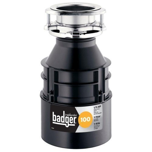 Price comparison product image InSinkErator Badger 100 1/3 HP Continuous Feed Garbage Disposal by InSinkErator