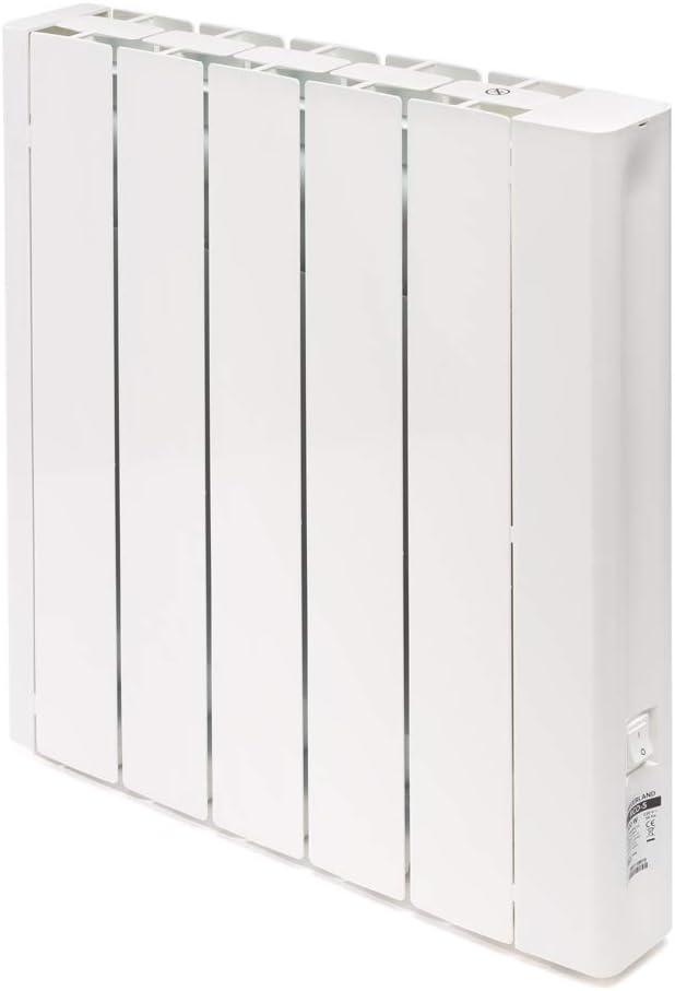 HAVERLAND RCO   Emisor Térmico Fluido Bajo Consumo   Programación con Conexión Inalámbrica Bluetooth   Diseño Ultra-Compacto   Blanco (1000W)