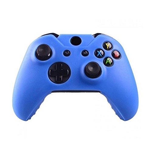 Price comparison product image Clearance ! Ninasill Exclusive Silicone Rubber Skin Case Gel Protective Cover For Xbox One Wireless Controller (Blue)