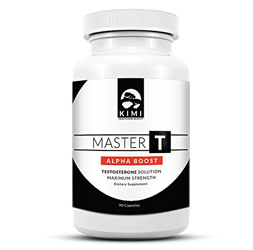 Master Alpha Boost Testosterone Booster product image