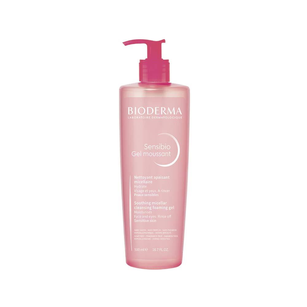 Bioderma Sensibio Micellar Cleansing and Makeup Removing Foaming Gel for Sensitive Skin