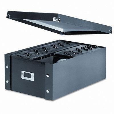 NEW - CD Storage Box, Holds 120 Slim/60 Std. Cases - SNS01658