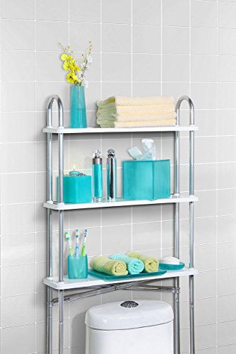 hot sale Arched 3-Shelf Space Saver in Chrome