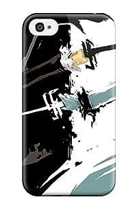 Fashionable XqqePlI4949gYbxy Iphone 4/4s Case Cover For Kurosaki Black And White Protective Case by icecream design