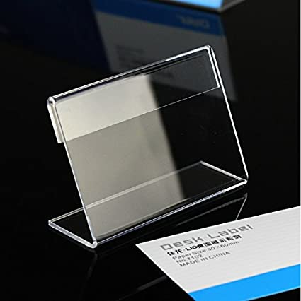 b81f980d2602a 20pack of Acrylic Price Tag Display Holder(13*9cm)