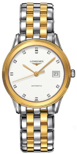 Longines Les Grandes Flagship Swiss Mens Watch L47743277 ()