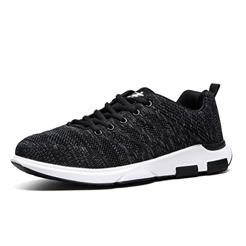 Running Shoes for Men Mens Sneakers Fashion Sports Outdoor Athletic Shoes Trainer Shoe Dark Grey