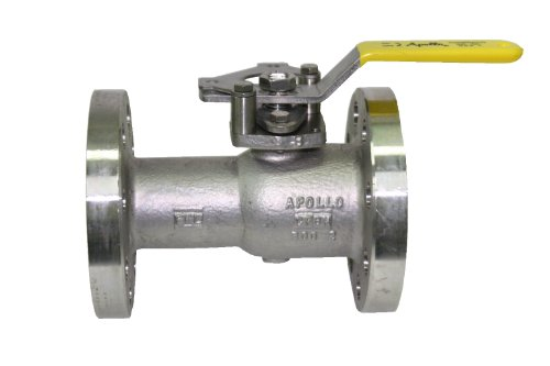 700 Series In Line Valve - Apollo 87A-700 Series Stainless Steel Ball Valve, Inline, Standard Port, Class 300, Handle Adapter, 6