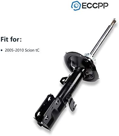ECCPP Complete Struts Assembly Front Rear Struts Shock Absorber Fit for 2005 2006 2007 2008 2009 2010 Scion tC Set of 2
