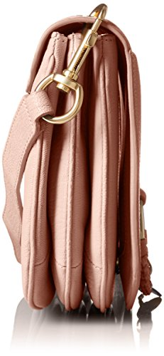 Leather Hana Women��s Medium Chloe By Nude Goatskin Crossbody See xwqY4vW