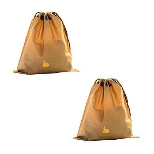Sundries Sac bijoux rangement cordon vêtements suspendre à Fourre Sac de étanche Pouch tout cadeau de de Sac PE plastique 2 Accessoires à sacoche en de pour nbsp;x voyage Taille Sac E E Toruiwa Sac ménage IwRfqxZz