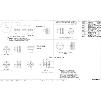 OEM Delphi 15324980 Weatherpack Connector Wire Seals 14-16 Gauge - 50 pack: Automotive