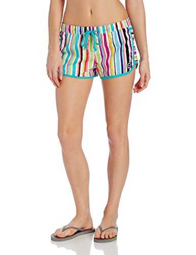 Roxy Juniors Sunkissed Boardshort, Seasalt, Large
