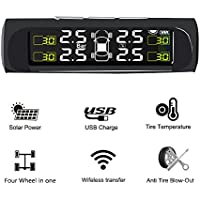 TPMS Lexxson Wireless Tire Pressure Monitoring Real-time Displays 4 Tires Pressure And Temperature LTPMS01