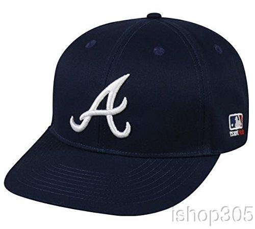 (MLB Licensed Replica Caps Atlanta Brave Road Baseball Hat MLB-300)