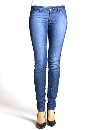 Bassa Sigaretta Vita Elasticizzato Vestibilità Jeans Con 788 Tessuto Jogger Per Donna Carrera Slim Strass A Modello wZn0P6RAx