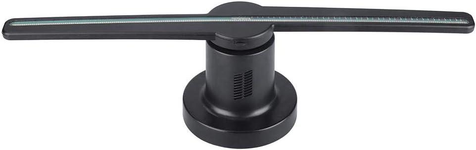 Denash Ventilador LED de Publicidad con Holograma 3D WiFi, HD 176 ...
