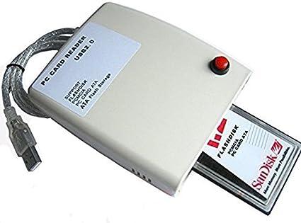 Generic PCMCIA USB 2.0 Lector de Tarjeta ATA Apoyo flashdisk, PCMCIA, PC Tarjeta ATA, ATA Flash