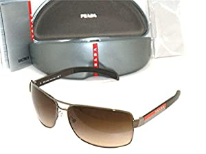 5a31884ead04e New Prada Sunglasses Ps 54IS 5AV6S1 Authentic Gunmetal with Brown Gradient  65 mm