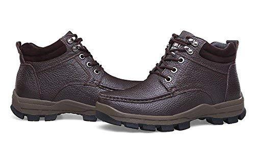 Lacci Lacci Alti Stivali Stivali Colore Caldi 38 Casual da Uomo FuweiEncore Dimensione 43 con Marrone FfZx5YwYq