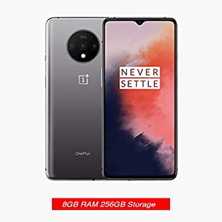 Gooplayer for OnePlus 7T HD1900, 8 GB, Dual Sim, 6.55 Inches, 48 ​​MP Main Lens, Triple Lens Camera, 855 Plus Octa Core China Version Unlocked GSM Model (Frosted Silver 256GB+8GB)
