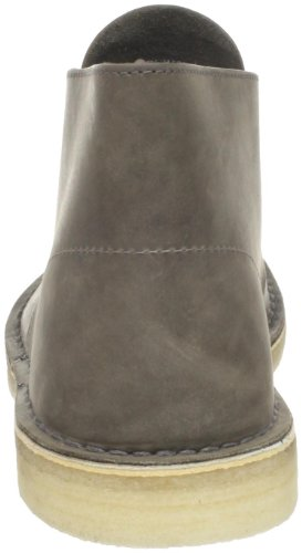 Clarks Original Mens Desert Boot Grått Skinn