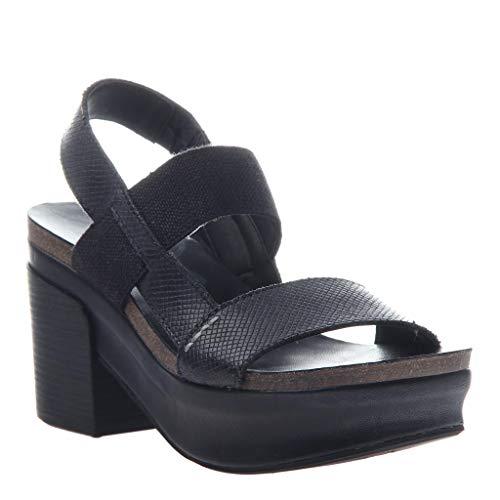 - OTBT Women's Indio Wedge Sandals - Black - 8.5 M US