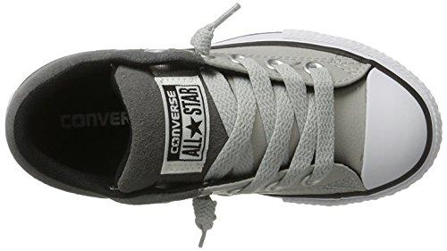 Converse High Street Slip - Tobillo bajo Unisex Niños Mehrfarbig (Ash Grey/Mason/White)