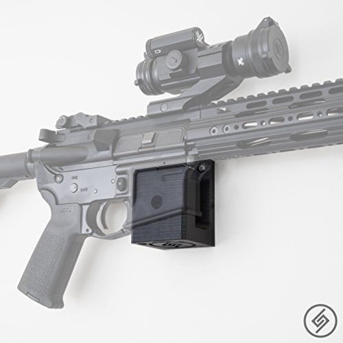 Spartan Mounts - AR-15 Wall Mount Rifle Display (R/L) Ar 15 Magazine