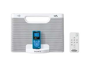 Sony portátil altavoz base para Walkman | AC100 voltios | Menu -  PDR - NWM7 W blanco