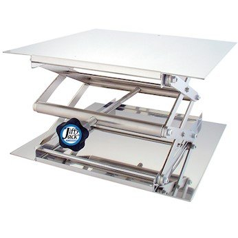 Dim of Platform 5.9x4.76 Max Gold Color Aluminum Table Maccx Lab Support Jack LSJ150-001 Height up to 10.63