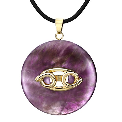 Clearance Pendant Necklace Natural Amethyst