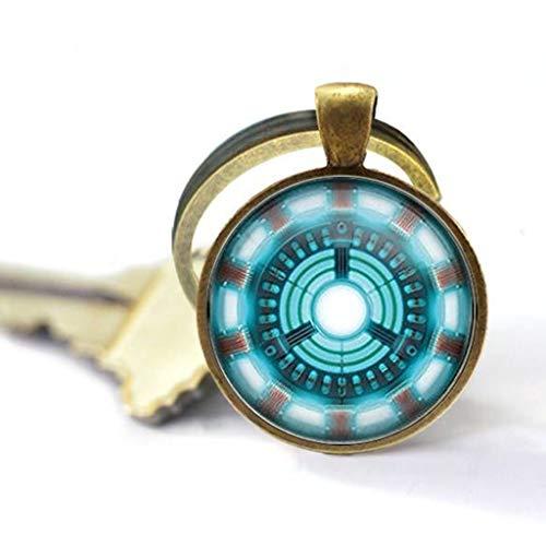 iron man arc reactor keychain - 1