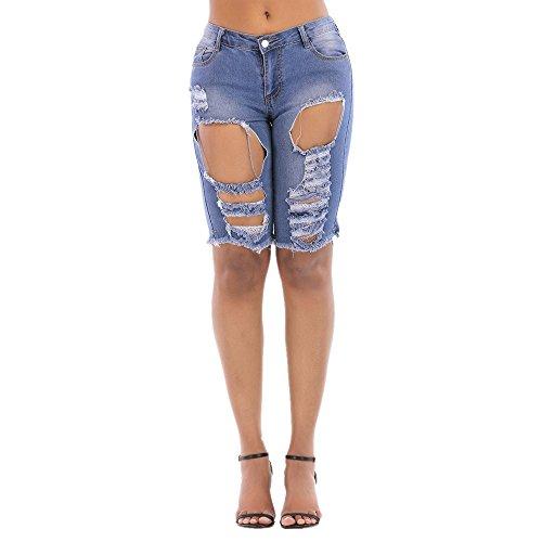 Size main de Blue Jeans pour la Trendy lavs L Color personnalit Blue femme wTSxqXvSrA
