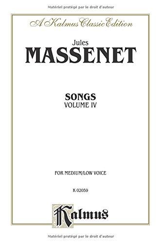 Songs 4 (Kalmus Edition)  (Tapa Blanda)