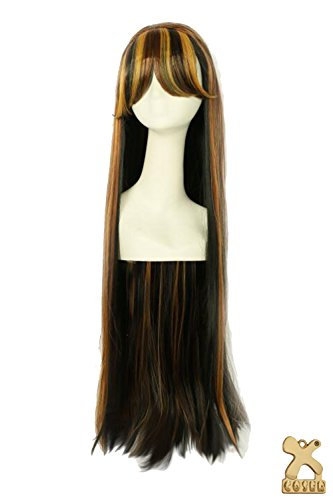 Cleo de Nile Wig Extra-long Straight Wig Monster High Cosplay Accessories Coslive]()