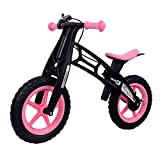 MammyGol Training Balance Bike Kids Sport Bicycle No Pedal Toddler Walking Buddy Excellent Present for Ages 2-5 Years (Pink)