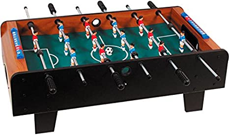 Buffalo. nl Niños Explorer Mini Mesa de futbolín, Negro, M: Amazon ...