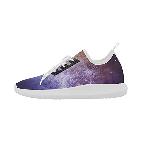 InterestPrint Universe sky with butterfly Dolphin Ultra Light Running Shoes for Women 6ApXDZNLW