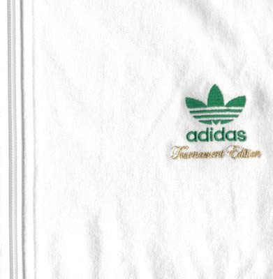 adidas Tournament Edition TT Jacke XL White: